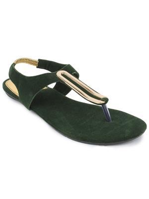 Srs-R-4-Olive Women Sandal