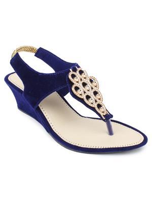 Srs-R-5-Blue Women Sandal