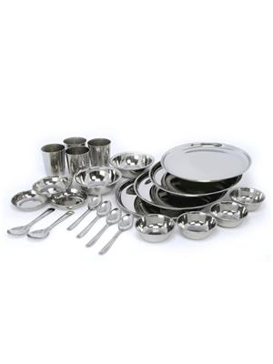 SS Silverware SS30 Silver Dinner Set Sets Of 24