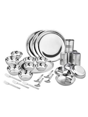 SS Silverware SS03 Silver Dinner Set Sets Of 28