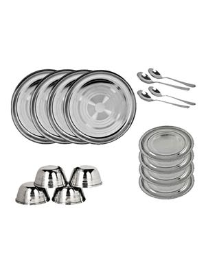 SS Silverware SS17 Silver Dinner Set Sets Of 32