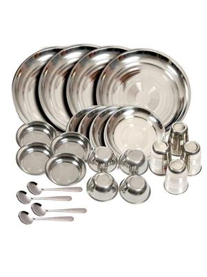 SS Silverware SS06 Silver Dinner Set Sets Of 24