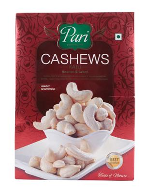 Pari Ss105 White Cashews Roasted & Salted W 320-250 Gms
