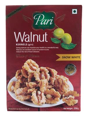 Pari Ss113 White Walnut Kernels Snow 250 Gms
