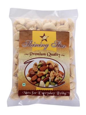 Shining Star Ss114 White Cashew Nuts -250 Gms