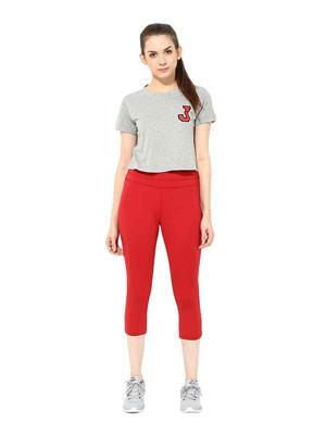 SS 1205  Red Women Sports & Trackwear