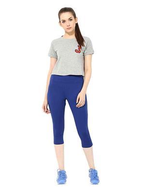 SS 1211  Blue Women Sports & Trackwear