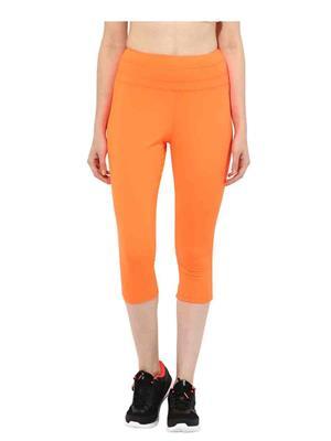 SS 1214  Orange Women Sports & Trackwear