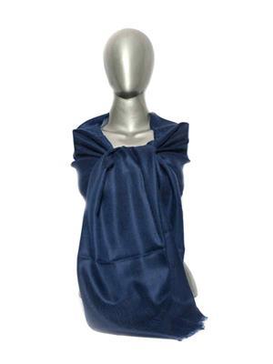 Kaka SS14 Blue Women Plain Pashmina Shawls