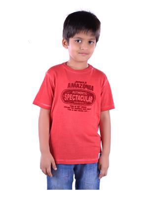 COLSA SS15JE-02ORG Orange Boys T Shirt