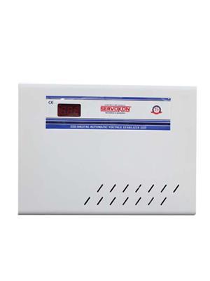 SERVOKON SS5110 White 5 Kva 110-300V AC Voltage Stabilizer