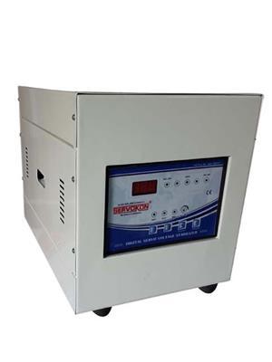 SERVOKON SSL2-1A140 Blue 2 Kva Servo 1Ph AC 140-260V Automatic Voltage Stabilizer