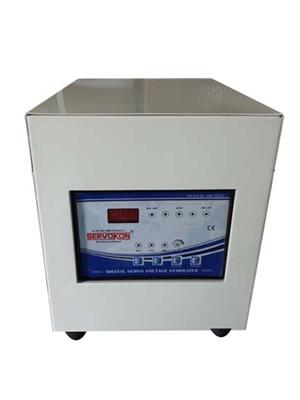 SERVOKON SSL3-1A160 Blue 3 Kva Servo 1 Ph AC 160-260V Automatic Voltage Stabilizer