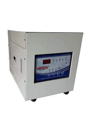 SERVOKON SSL4-1A140 Blue 4 Kva Servo 1 Ph AC 140-260V Automatic Voltage Stabilizer