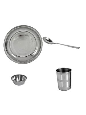 SS Silverware SS19 Silver Dinner Set Sets Of 4