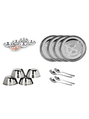SS Silverware SS15 Silver Dinner Set Sets Of 18