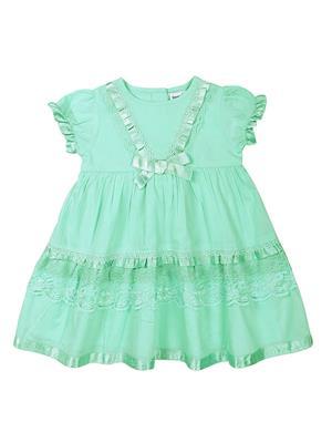 ShopperTree ST-1419 Multicolored Girl Dress