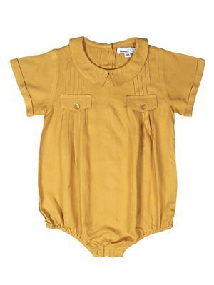 ShopperTree ST-1615 Yellow  Girl Romper