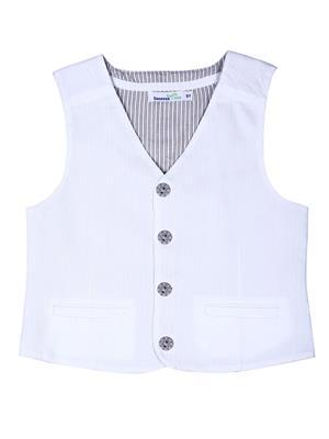 ShopperTree ST-1617 White Boy Jacket