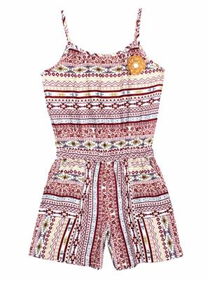 ShopperTree ST-1639 Multicolored Girl Jumpsuit