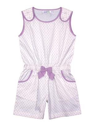 ShopperTree ST-1640 Purple Girl Jumpsuit
