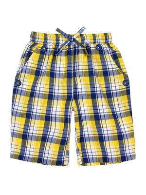 ShopperTree ST-1643 Yellow Boy Short