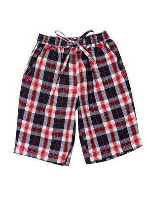 ShopperTree ST-1646 Maroon Boy Short