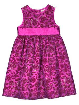 Shoppertree St-1653 Purple Pink Girl Dress