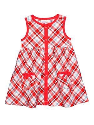 Shoppertree St-1677 Red Girl Dress