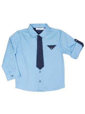 ShopperTree ST-1729 Blue Boy Shirt
