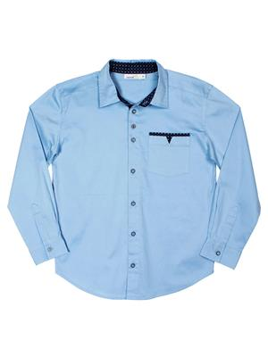 ShopperTree ST-1730 Blue Boy Shirt