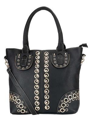 Stylathon STC-039-BLACK Women Shoulder Bag