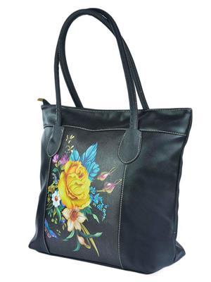 Fashionista Stc-051-Black Women Shoulder Bag