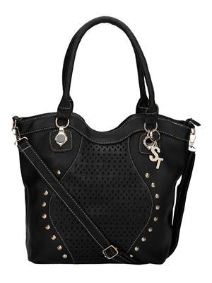Stylathon STC_002-BLACK Women Shoulder Bag