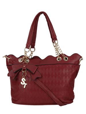 Stylathon STC_027-MAROON Women Shoulder Bag