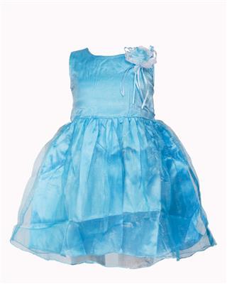 Soft Touch STSS15018 Blue Girls Frock