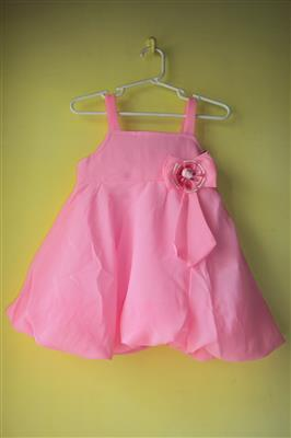 Soft Touch STSS15019 Pink Girls Frock