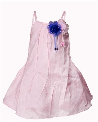 Soft Touch STSS15021 Pink Girls Frock