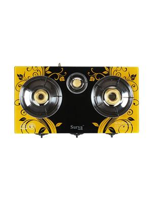 Ave Yellow 2.5 Burner Automatic Gas Stove