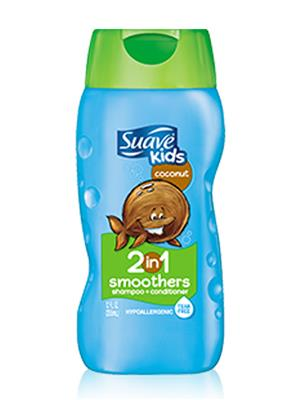 Suave SUS355 Kids 2 In 1 Shampoo (Strawberry)- 355Ml