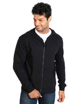 Ansh Fashion Wear SW-1 Black Men Sweatshirt