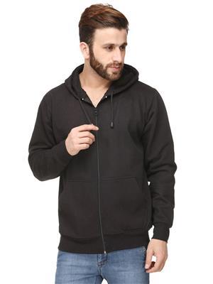 Ansh Fashion Wear SW-2 Black Men Sweatshirt