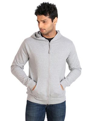Ansh Fashion Wear SW-2 Grey Men Sweatshirt