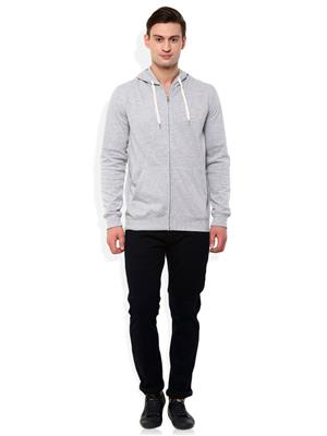 Ansh Fashion Wear SW-4 Grey Men Sweatshirt