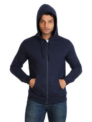Ansh Fashion Wear SW-4 Blue Men Sweatshirt