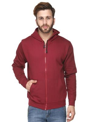 Ansh Fashion Wear SW-1 Red Men Sweatshirt