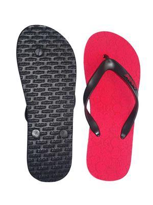 Smiley World SW406-1  Red Men Flip Flops