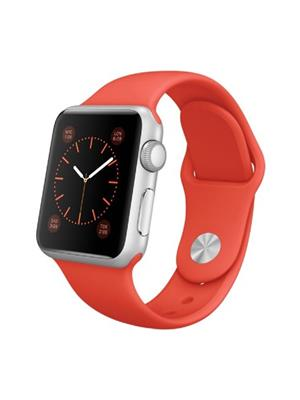 General Aux Swatchrs Red-Silver Men Smart Watch