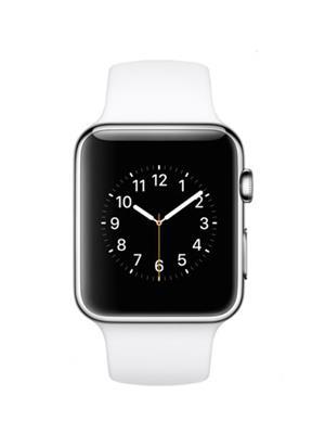 General Aux Swatchws White-Silver Men Smart Watch