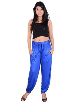 SWEEKASH SWEE2008-BHP-004 Blue Women Trouser